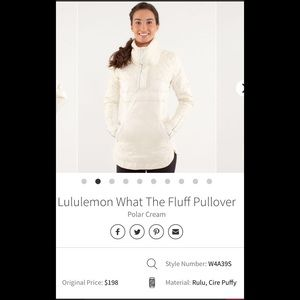 Lululemon What The Fluff Pullover